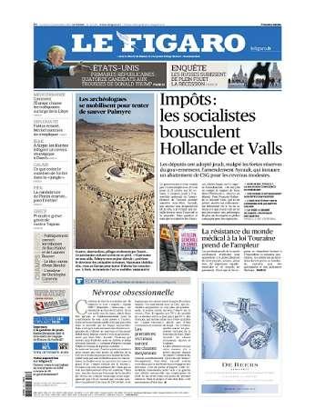 Le Figaro Du Vendredi 13 Novembre 2015