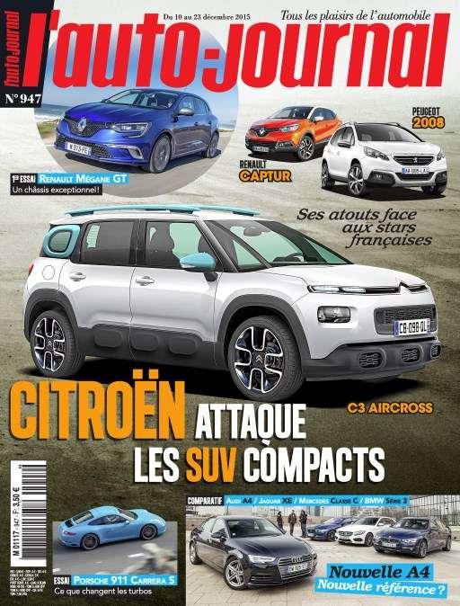 L'Auto-Journal 947 - 9 au 23 Décembre 2015