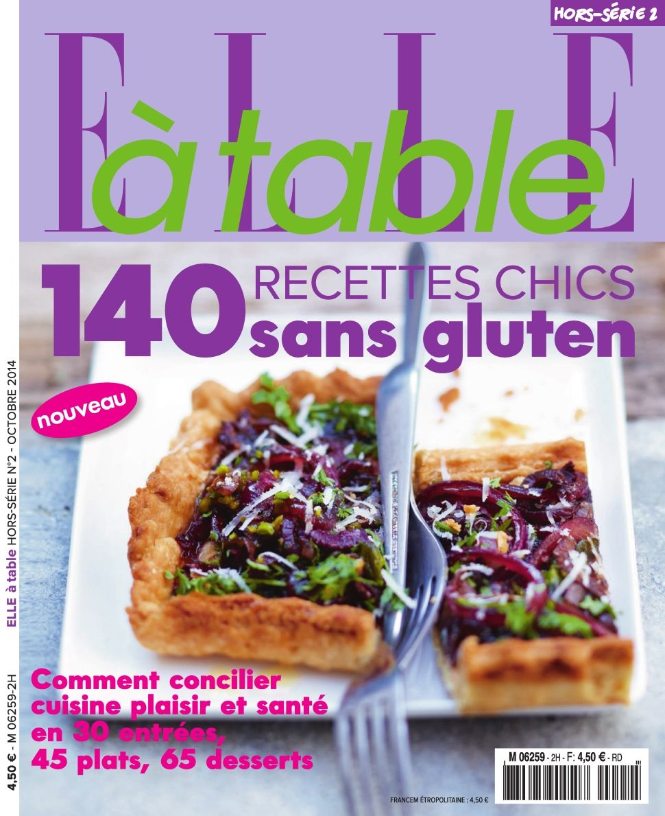 Elle à Table Hors-Série 2 - 140 recettes chics sans gluten