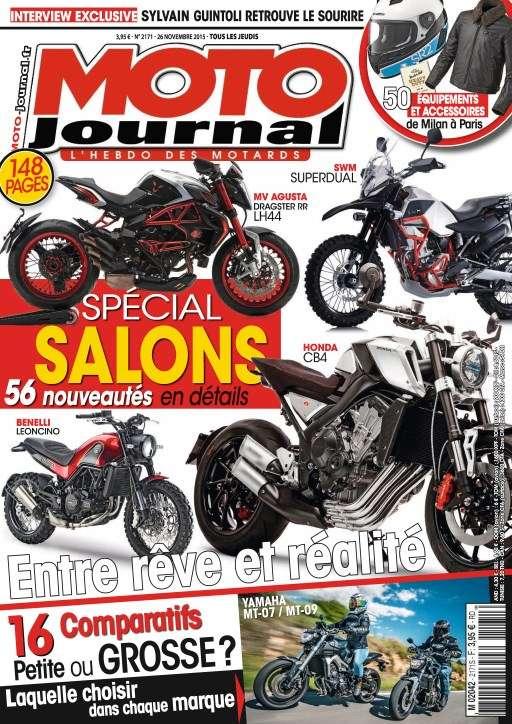 Moto Journal 2171 -26 Novembre au 2 Décembre 2015
