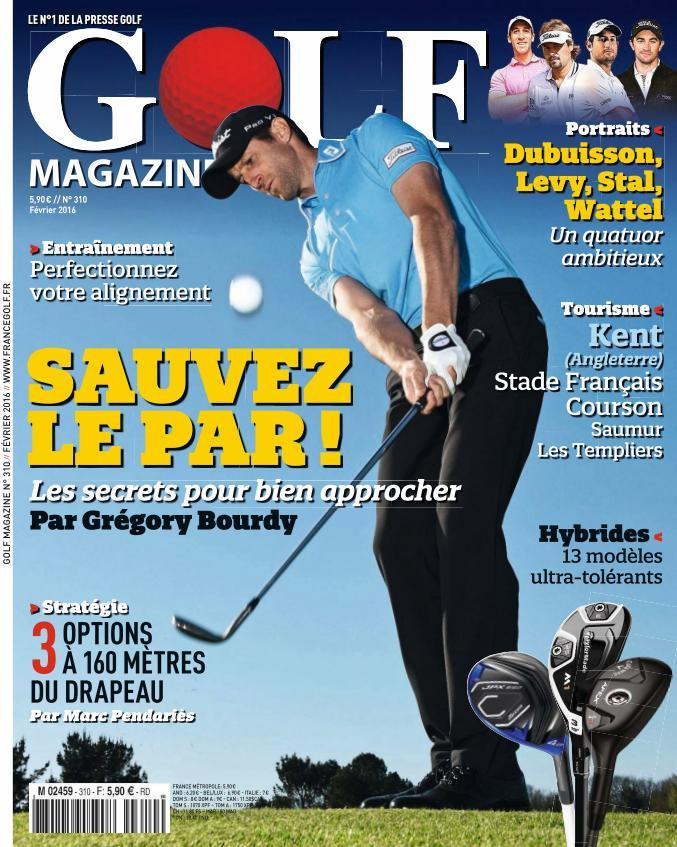 Golf Magazine 310 - Février 2016