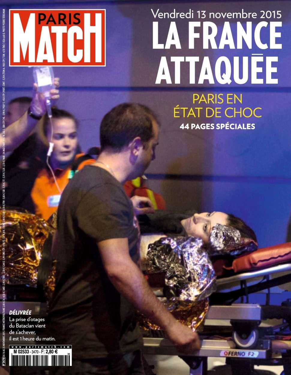 Paris Match 3470 - 16 au 25 Novembre 2015