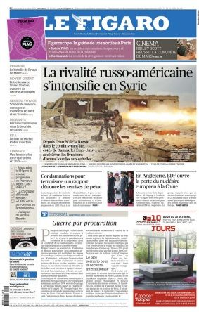 Le Figaro du Mercredi 21 Octobre 2015