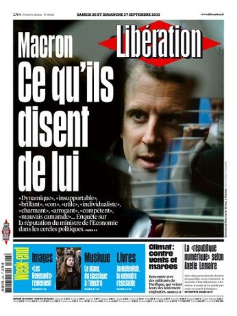 Liberation Week-End Du Samedi 26 & Dimanche 27 Septembre 2015