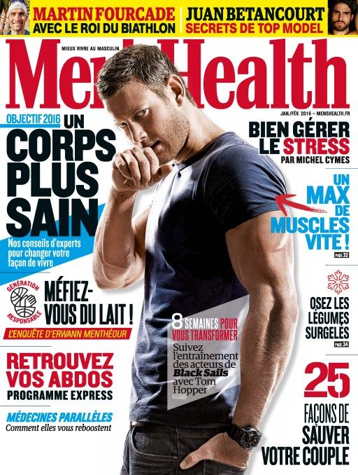 Men's Health 82 - Janvier 2016