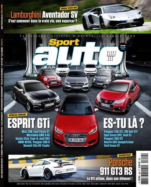 Sport Auto 649 - Février 2016