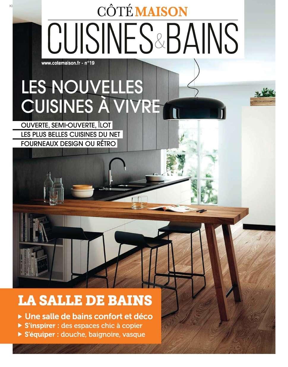 Vivre Côté Cuisines & Bains 19 - Automne 2015