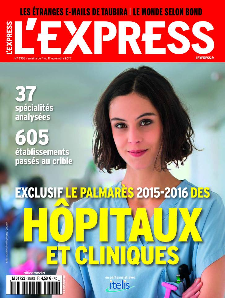 L'Express 3358 - 11 au 17 Novembre 2015