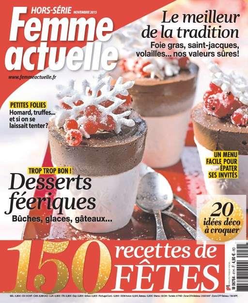 Femme Actuelle Hors-Série Cuisine 41 - Novembre 2015
