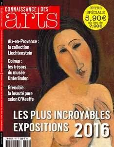 Connaissance des Arts - Janvier 2016