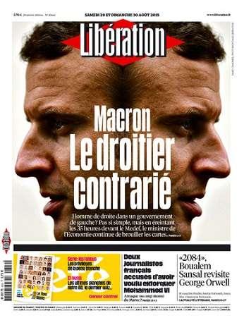 Liberation WEEK-END Du Samedi 29 & Dimanche 30 Août 2015