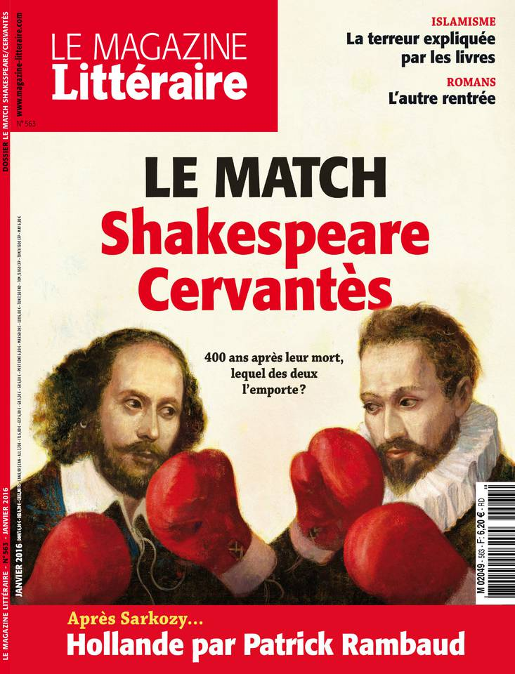 Le Magazine Littéraire 563 - Janvier 2016