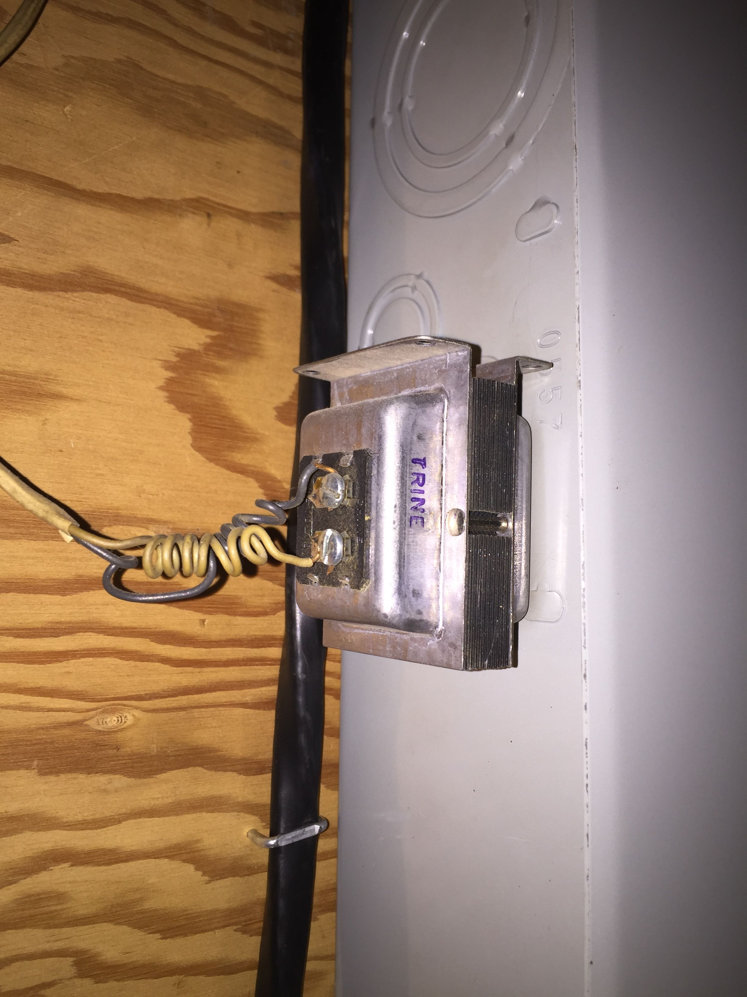 Here is the transformer from my panel ... & Electrical] Humming from Main Electrical Panel - Home Improvement ... Aboutintivar.Com