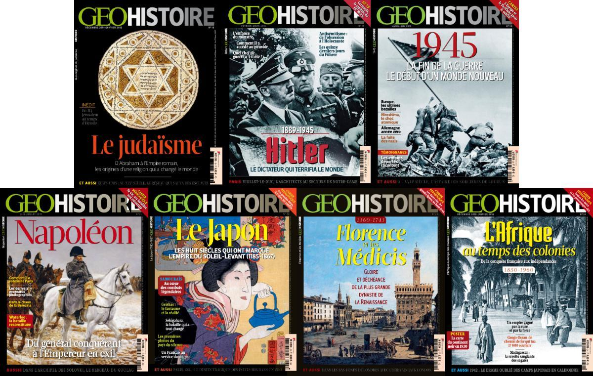 Geo Histoire - Full Year 2015 Collection