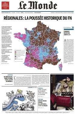 Le Monde du Mardi 8 Decembre 2015