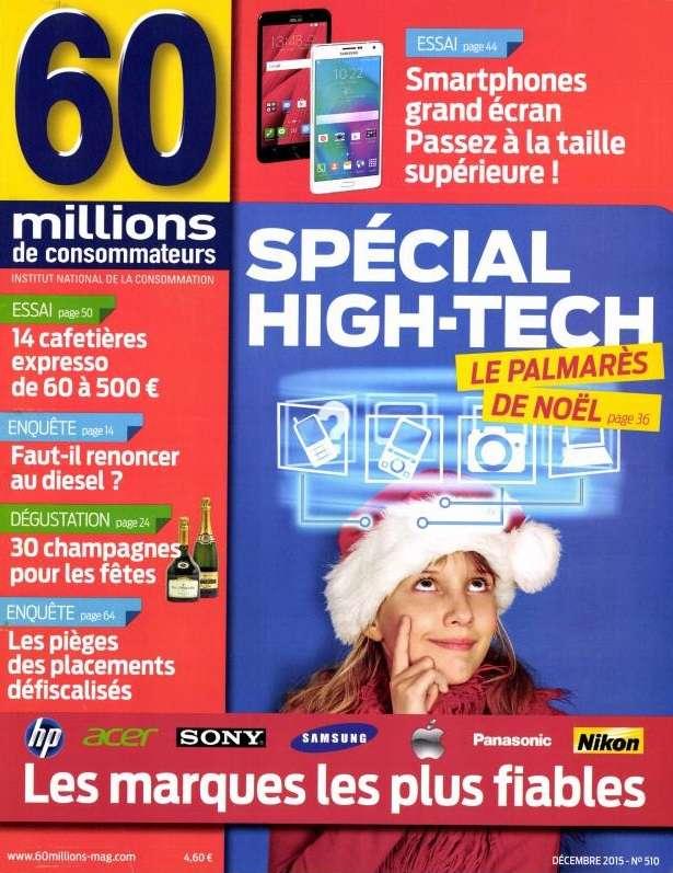 60 Millions de Consommateurs 510 - Décembre 2015