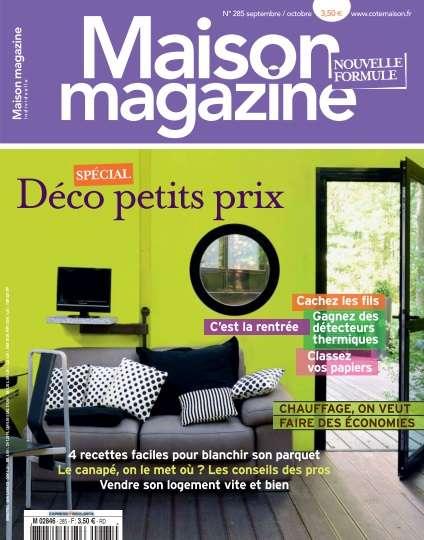 Maison Magazine 285 - Septembre/Octobre 2012