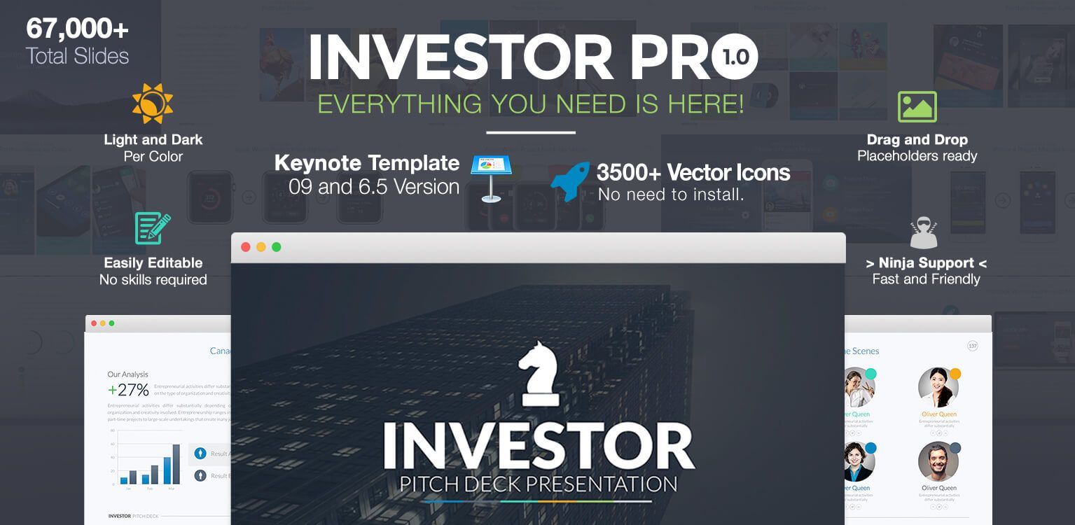 Investor Pitch Deck PowerPoint Template - 3