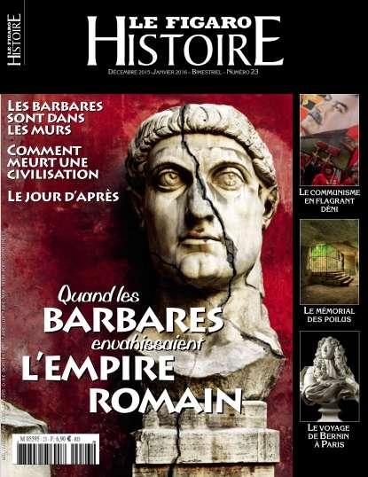 Le Figaro Histoire - Décembre2015 - Janvier 2016