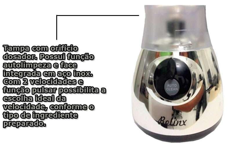 Liquidificador 110v 350W 110v Potente 2.5 litros Pulse barato