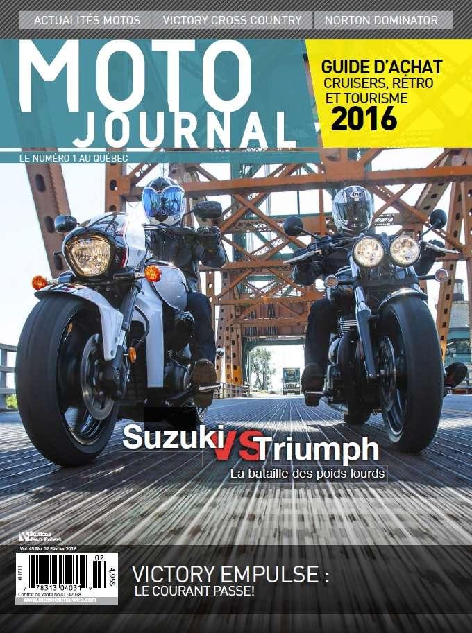 Moto Journal Québec - Février 2016