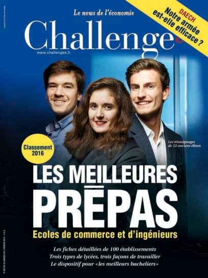 Challenges 462 - 28 Janvier au 3 Février 2016