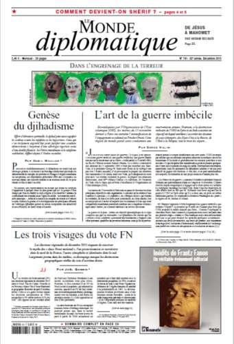 Le Monde Diplomatique 741 - Décembre 2015