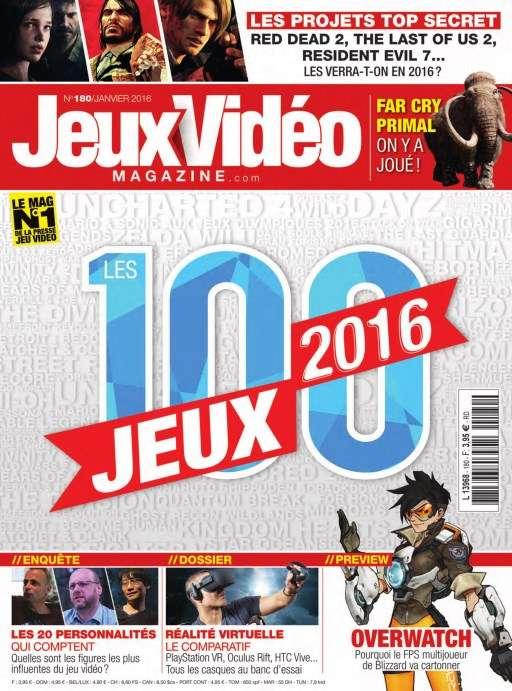 Jeux Vidéo Magazine 180 - Janvier 2016