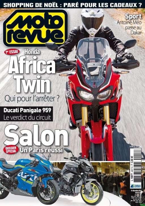 Moto Revue 4017 - 10 au 23 Décembre 2015