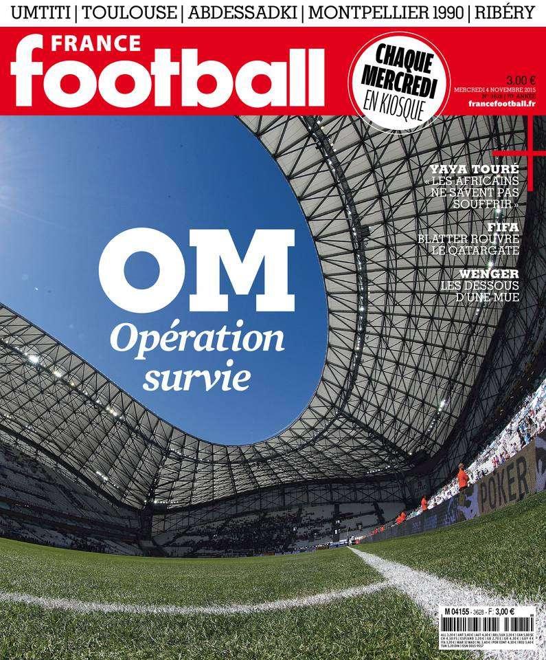 France Football 3628 du mercredi 4 novembre 2015
