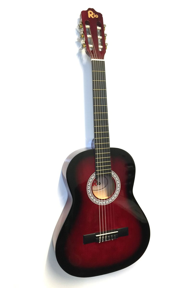 Rio-Acoustic-Guitar-Starter-Package-Pack-Outfit-Full-Size-Beginner-Adult-Student