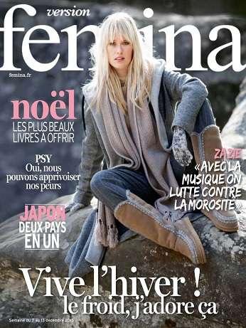Version Femina Du 7 Au 13 Décembre 2015