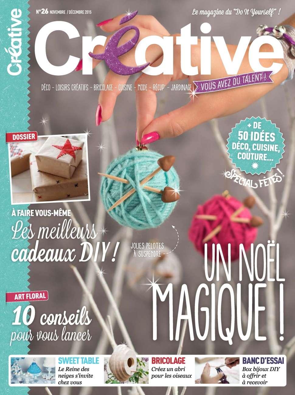 Créative 26 - Octobre/Décembre 2015