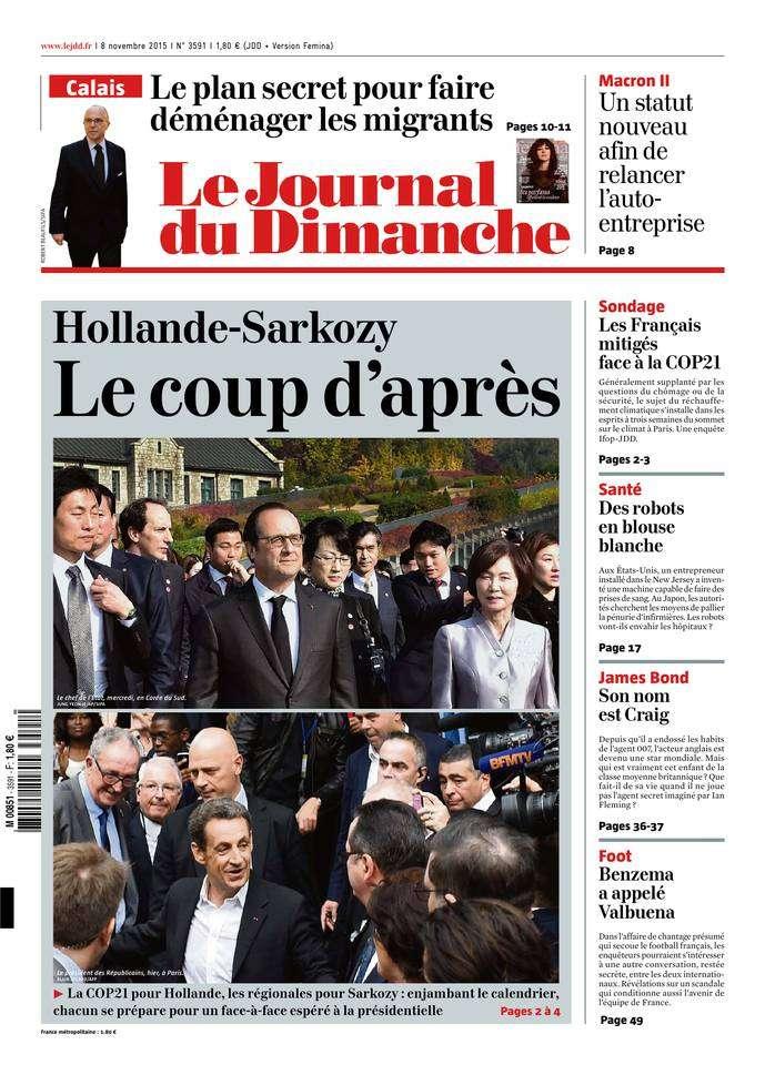 Le Journal du Dimanche - 8 Novembre 2015
