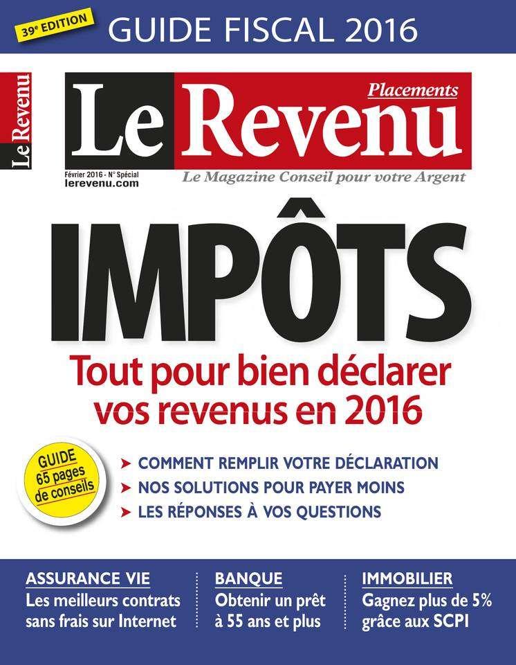 Le Revenu Placements 158 - Février 2016