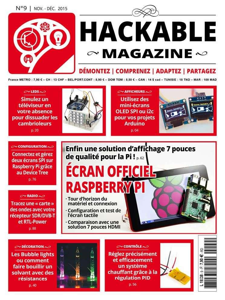 Hackable Magazine 9 - Novembre-Décembre 2015
