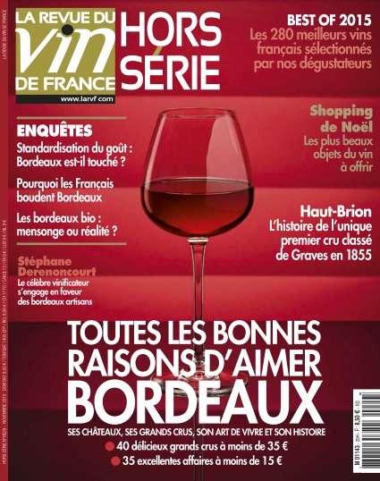 La Revue du Vin de France Hors-Série 29 - Novembre 2015