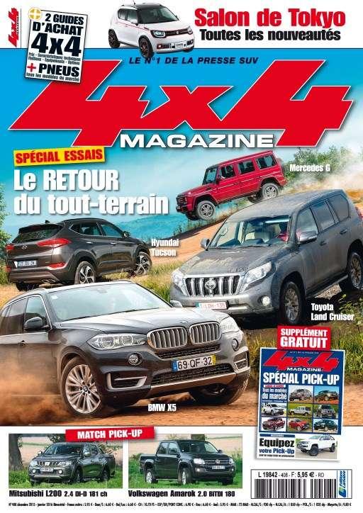 4x4 magazine 408 - Décembre 2015