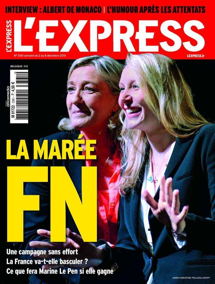 L'Express - 2 au 8 Décembre 2015