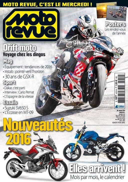 Moto Revue 4019 - 6 au 19 Janvier 2016