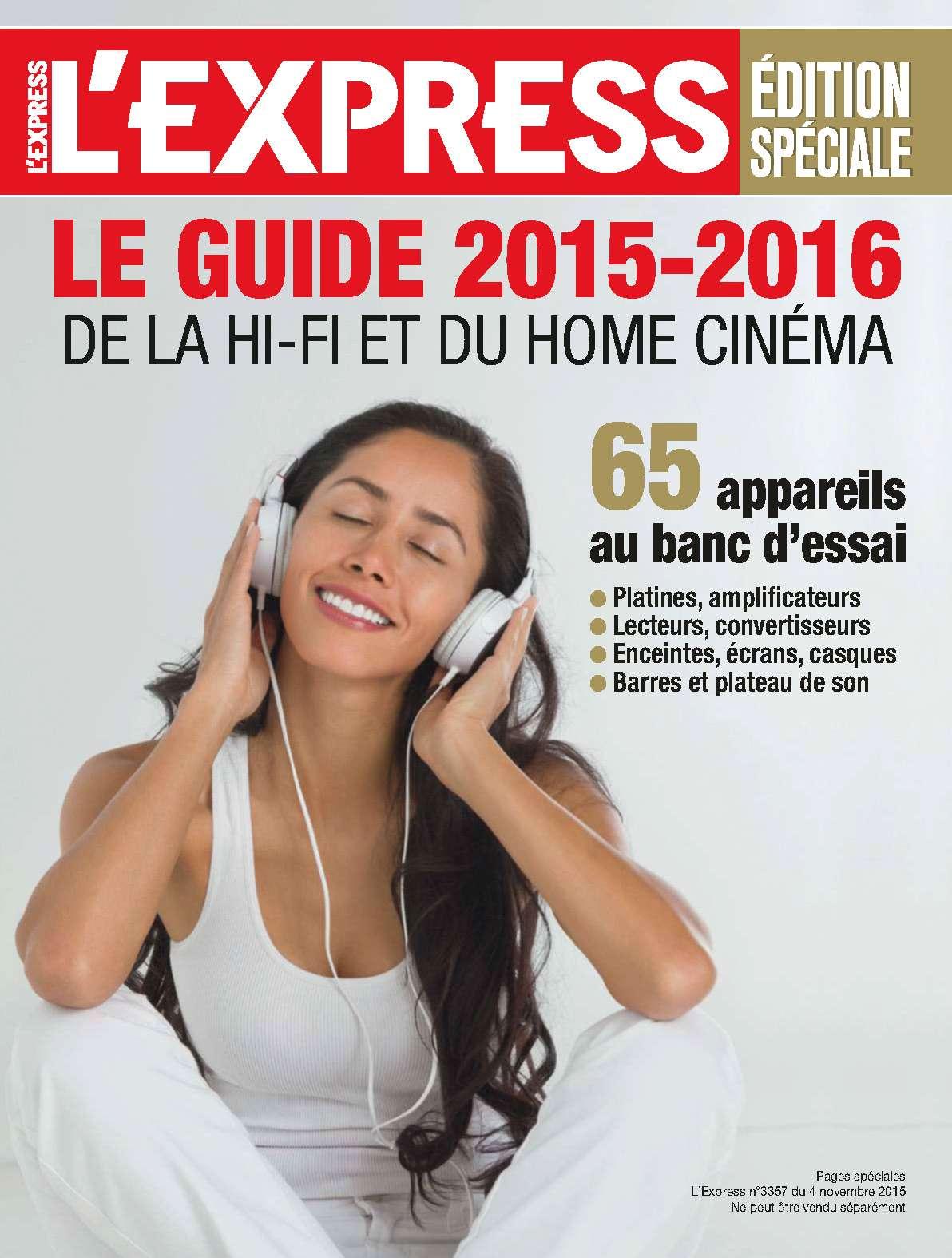 L'Express 3357 - Edition spécial 4 au 11 Novembre 2015