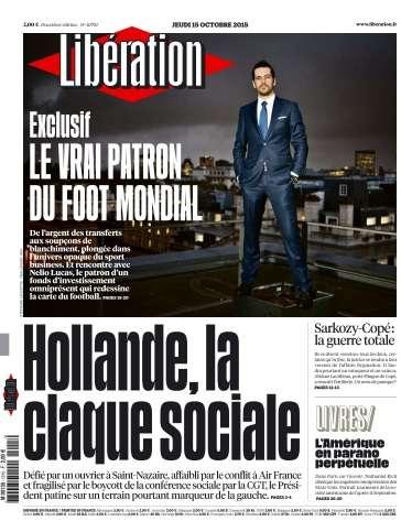 Libération du Jeudi 15 Octobre 2015