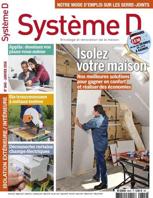 Système D 840 - Janvier 2016