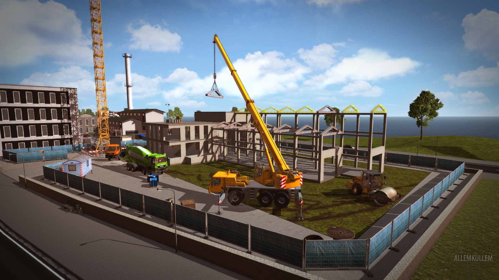 Construction Simulator Gold Edition - İnşaat Simülatörü - 2015 (SKIDROW)