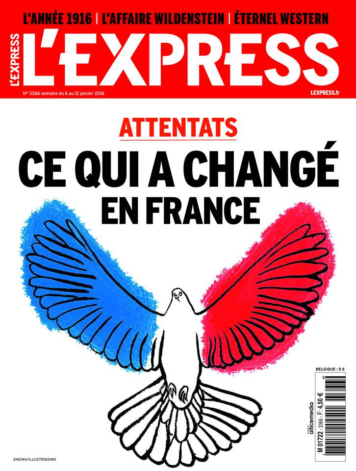 L'Express 3366 - 6 au 12 Janvier 2016