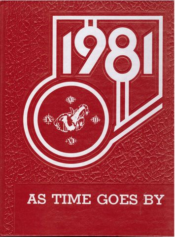1981 Coventry Rhode Island RI High School Yearbook Knotty Oak, Senior Class