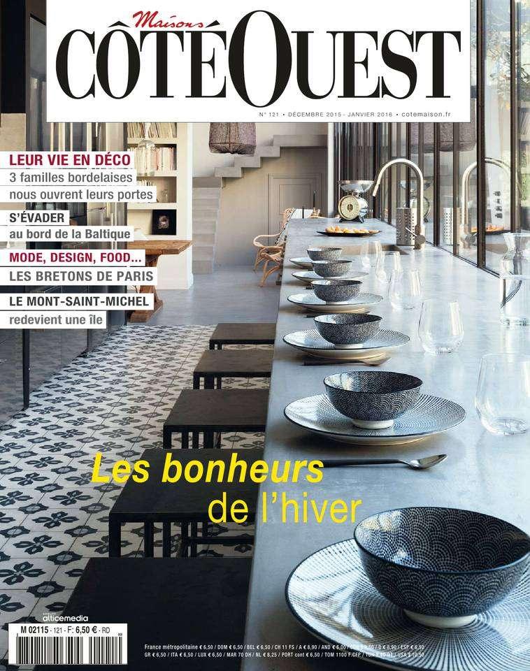 Maisons Côté Ouest 121 - Décembre 2015 - Janvier 2016