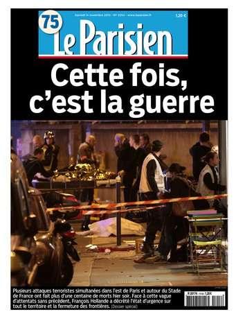 Le Parisien + Journal de Paris du samedi 14 novembre 2015
