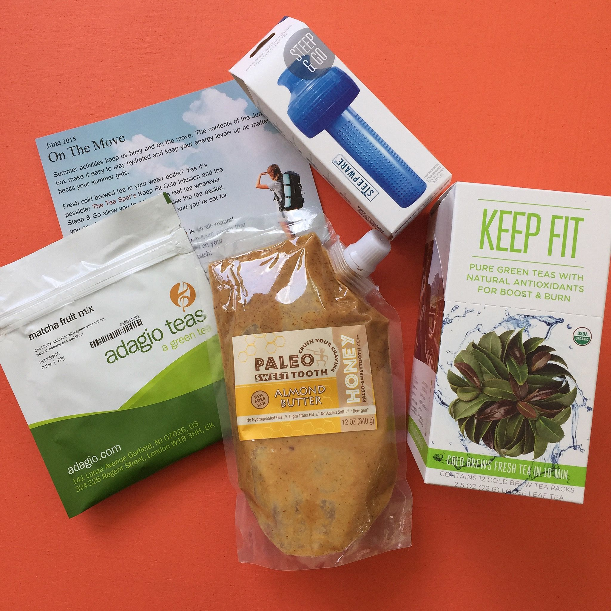 Tea Box Express June 2015 Giveaway