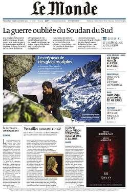 Le Monde et Supplément du Dimanche 1 et Lundi 2 Novembre 2015